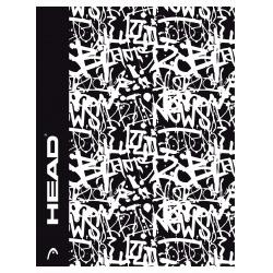 HEAD Grafitti, Zošit štvorčekový 565 (5x5mm), 60 listov, 102020002