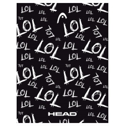 HEAD LOL, Zošit štvorčekový 565 (5x5mm), 60 listov, 102020002