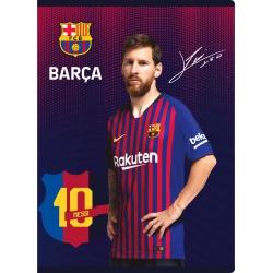 FC BARCELONA, Zošit A5 linajkový (9mm), 32 listov, mix vzorov, 102019005