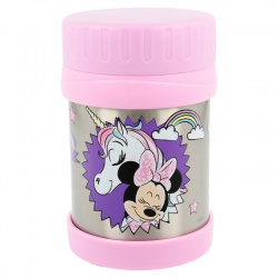 Nerezová termo nádoba MINNIE MOUSE & UNICORN, 430ml, 18861