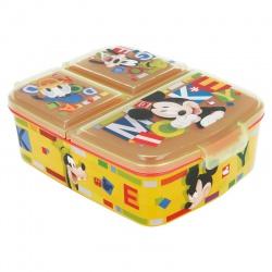 Delený plastový box na desiatu MICKEY MOUSE, 44220