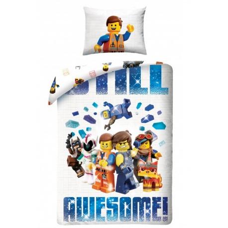 HALANTEX Obojstranné bavlnené obliečky LEGO MOVI2, 140/200+70/90