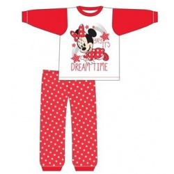 Dievčenské bavlnené pyžamo MINNIE MOUSE Dreamtime Baby