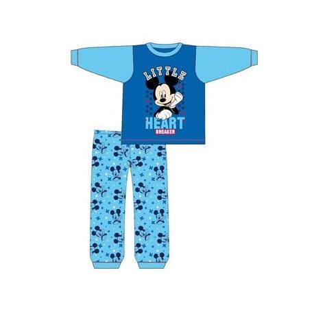Chlapčenské bavlnené pyžamo MICKEY MOUSE Baby - 6-9 mesiacov (74cm)