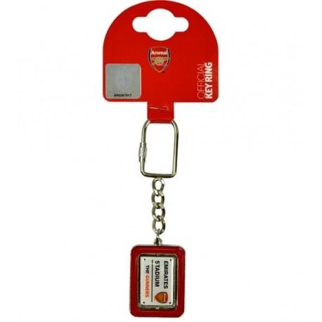 Kovový prívesok na kľúče ARSENAL Street Spinner FOREVER COLLECTIBLES ARS1972