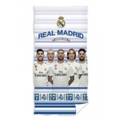 CARBOTEX Bavlnená osuška 70/140cm REAL MADRID Players, RM185026