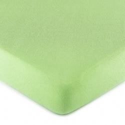 CARBOTEX Posteľné prestieradlo / plachta, Jersey Svetlo Zelená, 90/200cm, MMT04