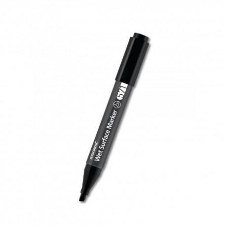 MONAMI® Permanentný popisovač na mokré povrchy,Wet Surface,  2mm, Čierny, 20801405030
