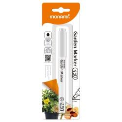 MONAMI® Permanentný záhradný popisovač, GARDEN MARKER 450, Biely, 20801555040