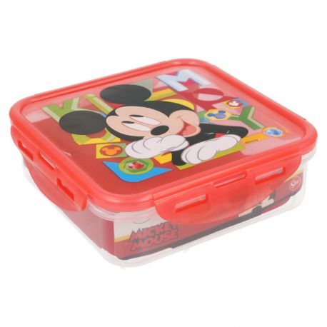 Plastový box / krabička na desiatu MICKEY MOUSE, 750ml, 44264