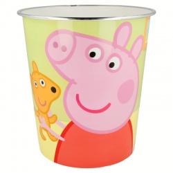 Plastový smetný kôš  PEPPA PIG, 02418