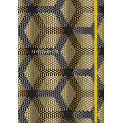 SHKOLYARYK® Skicovací zošit A5, 80 listov, bodkovaný, 90g/m2, mix motívov, 114020013