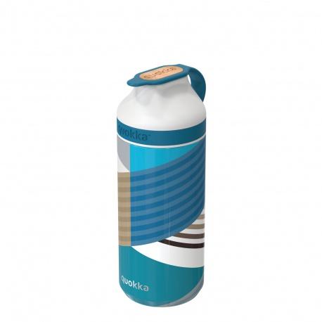 QUOKKA MINERAL STEEL Nerezová fľaša / termoska GEO, 335ml, 40303
