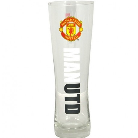 Vysoký pohár na pivo MANCHESTER UTD Pilsner Premium FOREVER COLLECTIBLES MAN1947