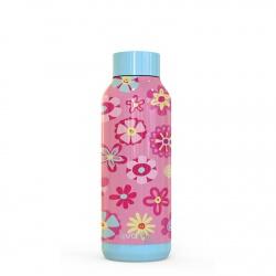 QUOKKA KIDS Nerezová fľaša / termoska FLOWERS 510ml, 11843