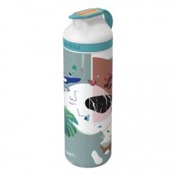 QUOKKA MINERAL STEEL Nerezová fľaša / termoska SYNESTHESIA, 430ml, 40206