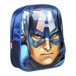 Detský 3D batoh AVENGERS Capitain America, 2100002611