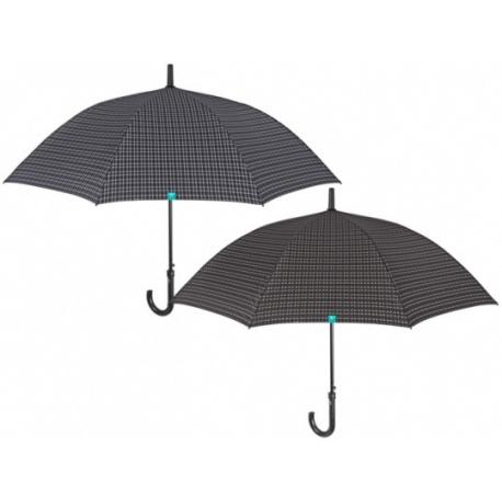 PERLETTI® Pánsky automatický dáždnik TIME / svetlý, 26073