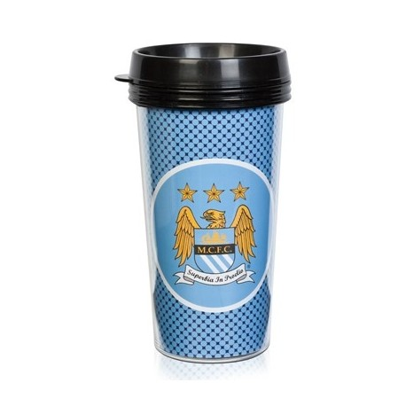 Cestovný termo pohár 420ml MANCHESTER CITY Bullseye