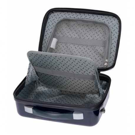 DISNEY FROZEN Awesome, ABS Cestovný kozmetický kufrík, 21x29x15cm, 9L, 4053921