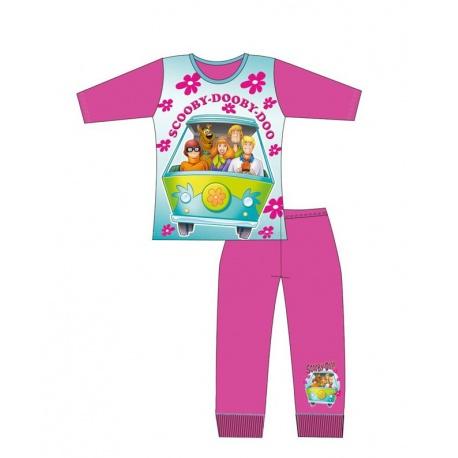Dievčenské bavlnené pyžamo SCOOBY DOO - 10 rokov (140cm)