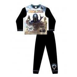 Chlapčenské bavlnené pyžamo STAR WARS Mandalorian