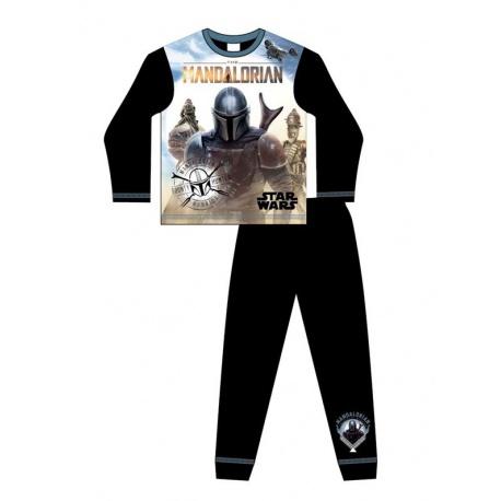 Chlapčenské bavlnené pyžamo STAR WARS Mandalorian - 6 rokov (116cm)