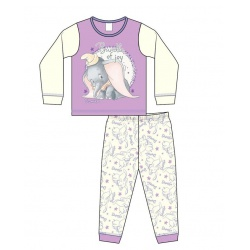 Dievčenské bavlnené pyžamo DISNEY DUMBO Baby