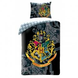 HALANTEX Obojstranné bavlnené obliečky HARRY POTTER, 140/200+70/90, HP8068BL