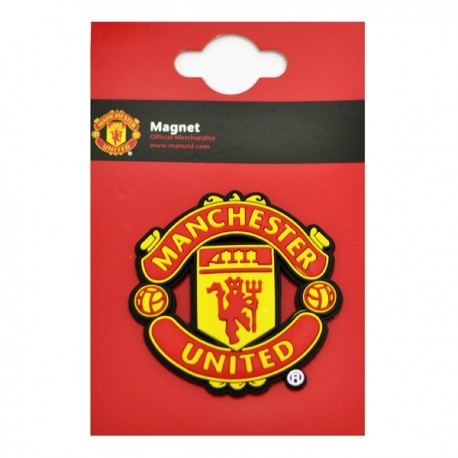 3D Magnetka 6 x 6cm MANCHESTER UTD. FOREVER COLLECTIBLES MAN1924