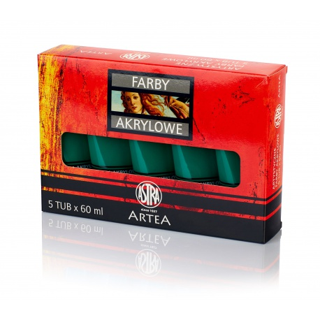 ARTEA Akrylová farba Profi 60ml, Deep Green / Tmavá Zelená, 83410940