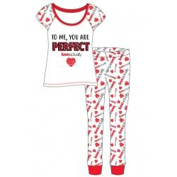 Dámske bavlnené pyžamo LOVE ACTUALLY