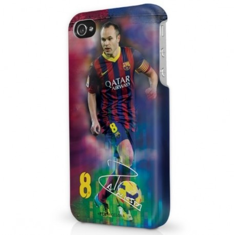 Ochranný kryt na  iPHONE 5 FC BARCELONA Iniesta FOREVER COLLECTIBLES BRC1789