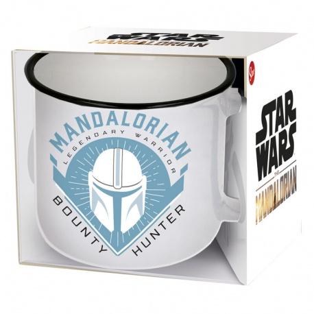 Keramický hrnček STAR WARS Mandalorian, 400ml, 00887