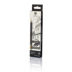 ARTEA Umelecká skicovacia šesťhranná ceruzka, tvrdosť H, 206118008