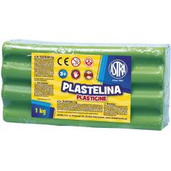 ASTRA Plastelína 1kg Zelená, 303111016