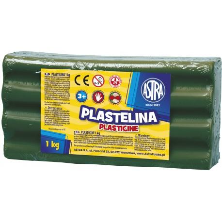 ASTRA Plastelína 1kg Zelená tmavá, 303111019