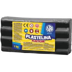 ASTRA Plastelína 1kg Čierna, 303111024