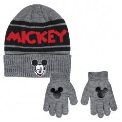 Detská zimná súprava (čiapka a rukavice) MICKEY  MOUSE, 2200004317