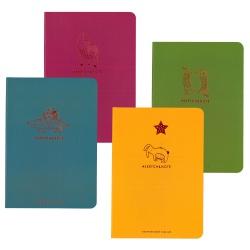 SHKOLYARYK® Skicovací / pozámkový notes A5, 64 listov, 120g/m2, mix motívov, 114020002