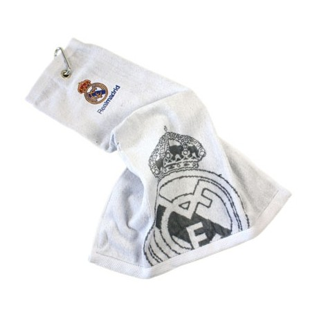 Golfový uterák REAL MADRID Tri-Fold biely FOREVER COLLECTIBLES REA1340