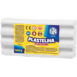 ASTRA Plastelína 500g Biela, 303117002