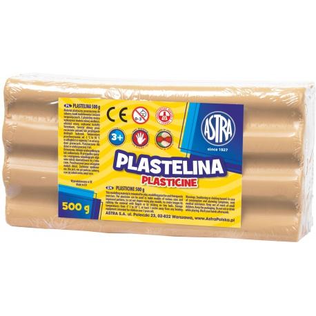 ASTRA Plastelína 500g Telová, 303117004