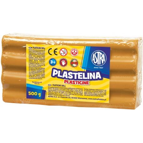 ASTRA Plastelína 500g Oranžová, 303117005