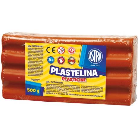 ASTRA Plastelína 500g Červená, 303117006