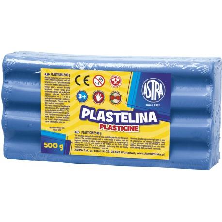 ASTRA Plastelína 500g Modrá Tmavá, 303117007