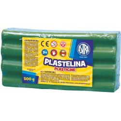 ASTRA Plastelína 500g Zelená, 303117009
