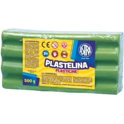 ASTRA Plastelína 500g Zelená Svetlá, 303117010