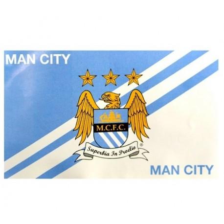 Klubová vlajka 152/91cm MANCHESTER CITY Striker