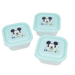 Plastová dóza / krabička na jedlo MICKEY MOUSE, 3ks, 13006